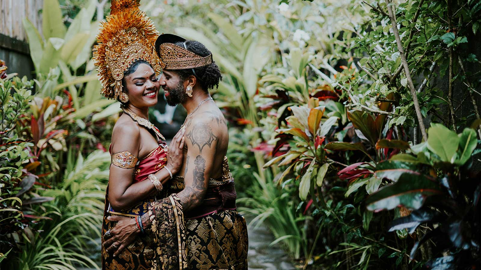 beautiful wedding package by dedary kriyamaha villa in ubud
